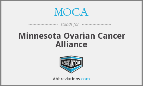 MOCA - Minnesota Ovarian Cancer Alliance