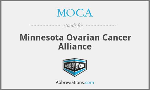 MOCA - Minnesota Ovarian Cancer Alliance