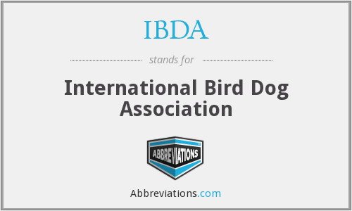 IBDA - International Bird Dog Association