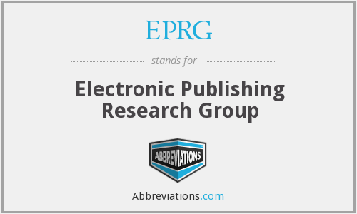 What does EPRG stand for?