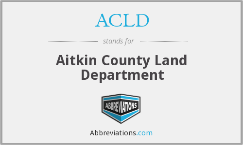 ACLD - Aitkin County Land Department
