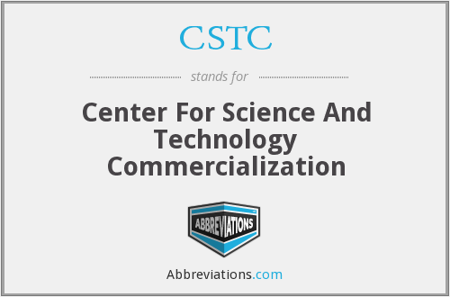 CSTC - Center For Science And Technology Commercialization