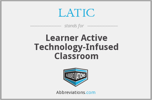 What does LATIC stand for?