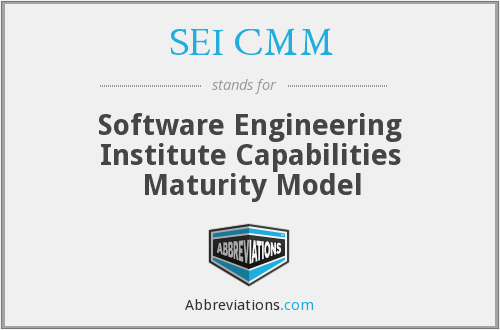 What does SEI CMM stand for?