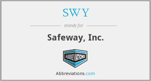 What does SWY stand for?