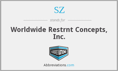 SZ - Worldwide Restrnt Concepts, Inc.
