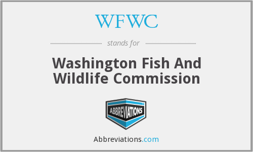 WFWC - Washington Fish And Wildlife Commission