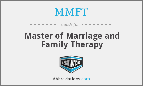 MMFT - Master of Marriage and Family Therapy