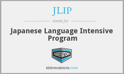 JLIP - Japanese Language Intensive Program