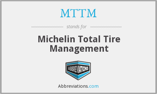 MTTM - Michelin Total Tyre Management