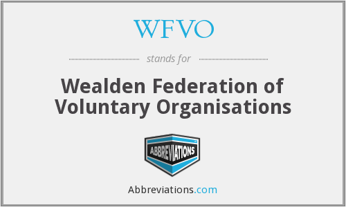 What does WFVO stand for?
