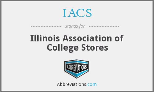 IACS - Illinois Association of College Stores