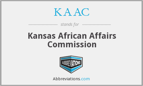 KAAC - Kansas African Affairs Commission