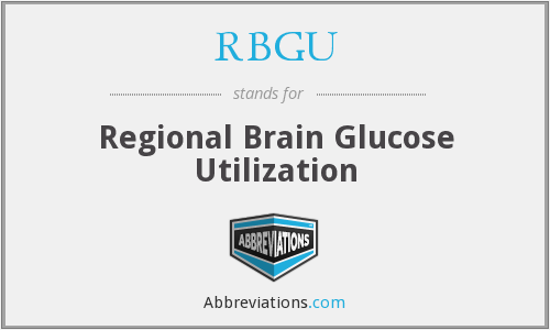 What does RBGU stand for?