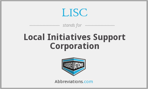 What does LISC stand for?