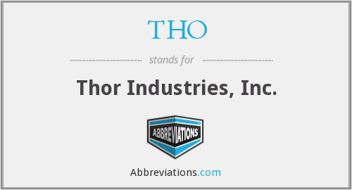 THO - Thor Industries, Inc.