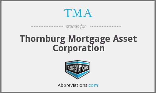 TMA - Thornburg Mortgage Asset Corporation