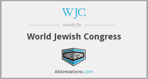What does WJC stand for?