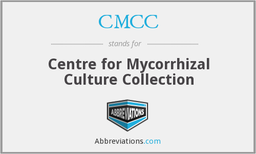 CMCC - Centre for Mycorrhizal Culture Collection