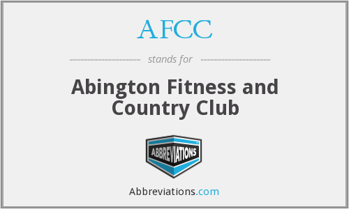 AFCC - Abington Fitness and Country Club