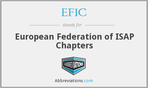 EFIC - European Federation of ISAP Chapters