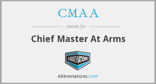 CMAA - Chief Master At Arms