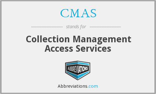 CMAS - Collection Management Access Services