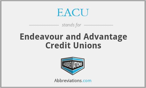 EACU - Endeavour and Advantage Credit Unions