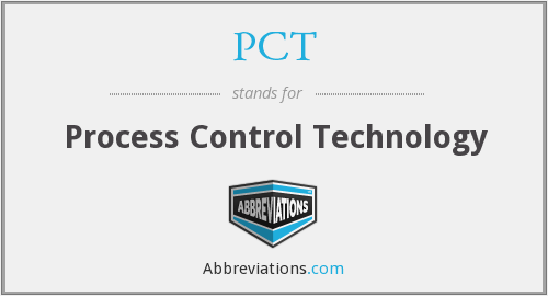 PCT - Process Control Technology