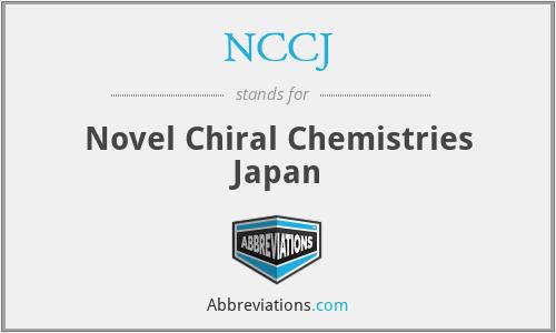 NCCJ - Novel Chiral Chemistries Japan