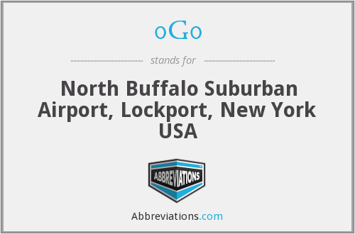 0G0 - North Buffalo Suburban Airport, Lockport, New York USA