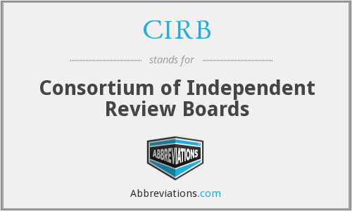 CIRB - Consortium of Independent Review Boards
