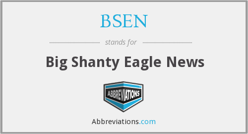 BSEN - Big Shanty Eagle News