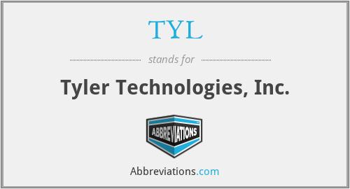 TYL - Tyler Technologies, Inc.
