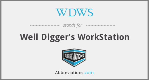 What does WDWS stand for?