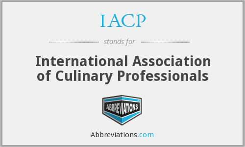 IACP - International Association of Culinary Professionals