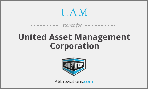 UAM - United Asset Management Corporation