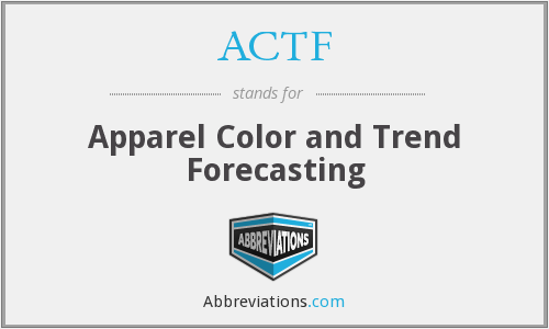 ACTF - Apparel Color and Trend Forecasting