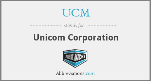 UCM - Unicom Corporation