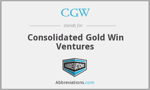 CGW - Consolidated Gold Win Ventures