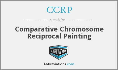 CCRP - Comparative Chromosome Reciprocal Painting
