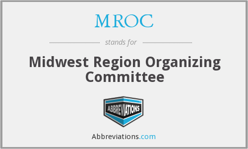 MROC - Midwest Region Organizing Committee