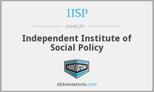 IISP - Independent Institute of Social Policy