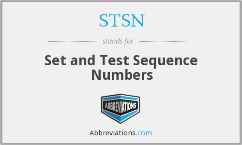 STSN - Set and Test Sequence Numbers