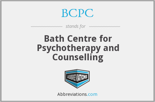 BCPC - Bath Centre for Psychotherapy and Counselling