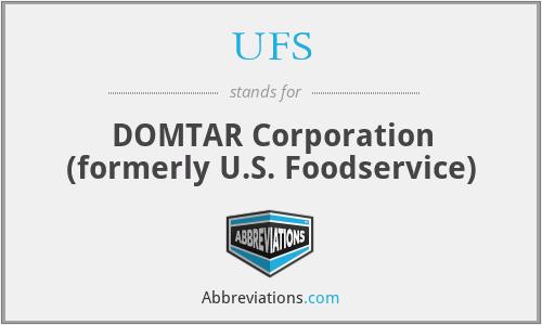 UFS - DOMTAR Corporation (formerly U.S. Foodservice)