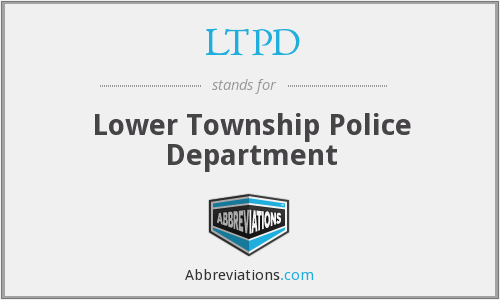 LTPD - Lower Township Police Department