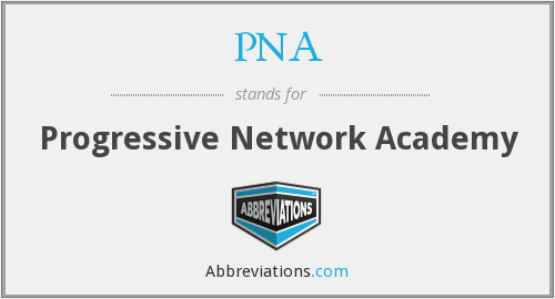PNA - Progressive Network Academy