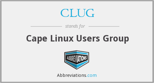 CLUG - Cape Linux Users Group
