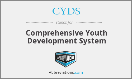 CYDS - Comprehensive Youth Development System